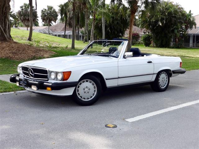 1989 Mercedes 560SL For Sale Delray Beach, Florida
