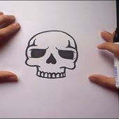Como Dibujar Una Calavera Paso A Paso 5 Pintaycrea Over Blog Com