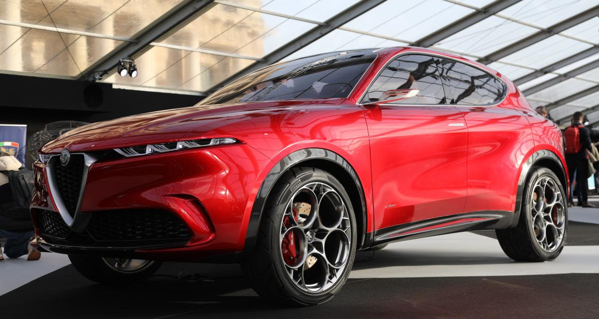 Alfa Romeo Tonale : nos photos du futur SUV compact à l