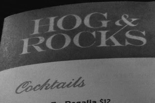 Hog and Rocks - Cocktails
