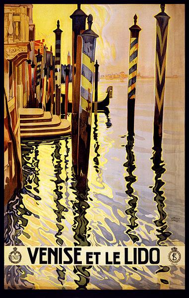 File:Venise et le Lido, travel poster for ENIT, ca. 1920.jpg