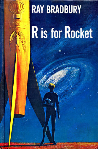 Book Cover, R is For Rocket by Ray Bradbury by CityOfDave