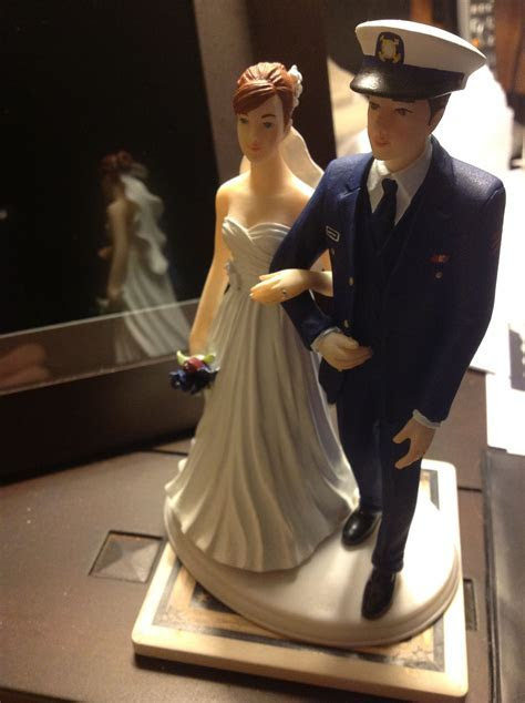 My customized Coast Guard Cake topper from miscaketops.com