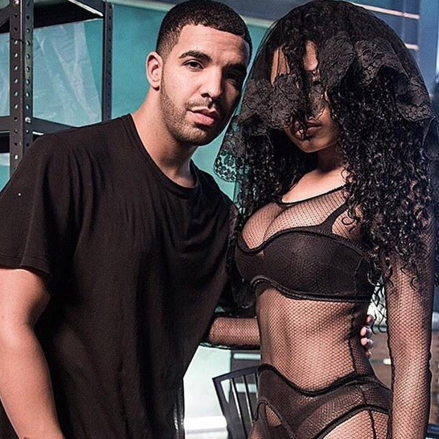 Nicki Minaj e Drake (Foto: Reprodução/Instagram)
