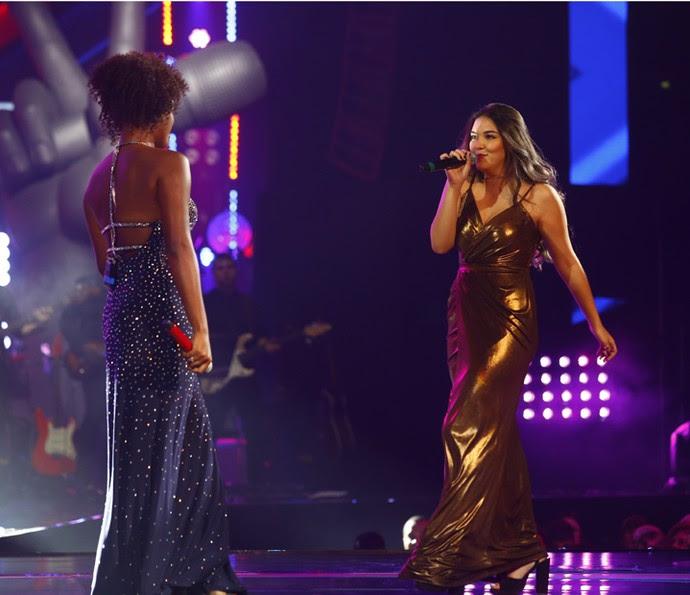 Resultado de imagem para Mylena Jardim cantam 'Freedom' na Final do The Voice Brasil