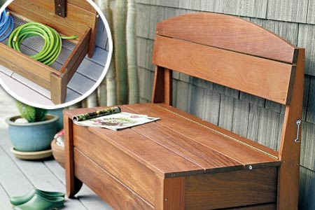 How to Build a Bench With Hidden Storage | This Old House