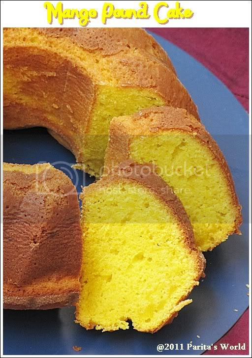 Mango Pound Cake,Mango Cake,Mango butter cake,Tea Cake,Baking,Sweet Breads,Sweets and Desserts,Cakes