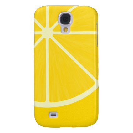 Lemon iPhone 3 case