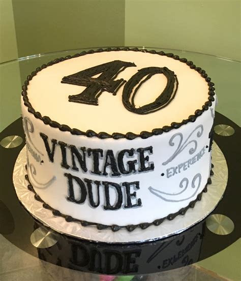 Vintage Dude Layer Cake ? Classy Girl Cupcakes
