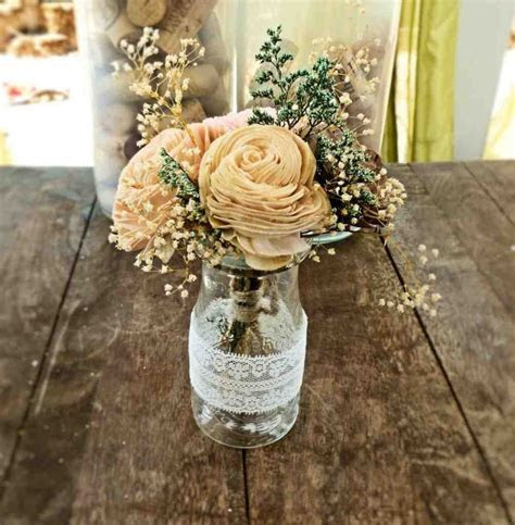 Unique Wedding Centerpiece Ideas On A Budget   Wedding and