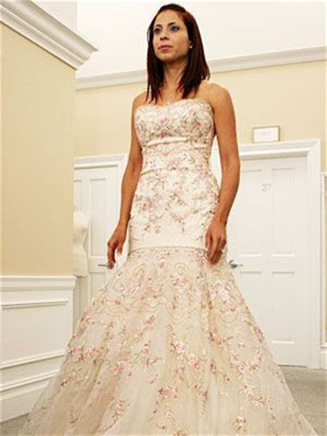 kleinfeld pink floral dress   You Said Yes! Now, Pick a
