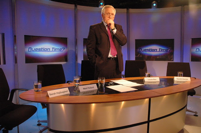 Question Time presenter David Dimbleby