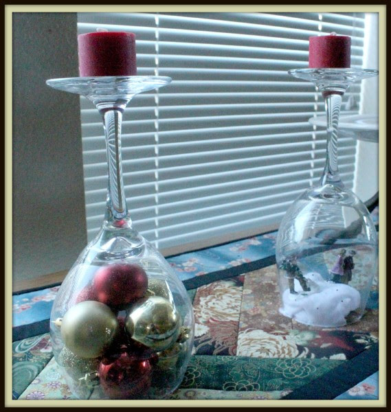 Holiday Wine Glass Decorations Minnesota Girl In The
