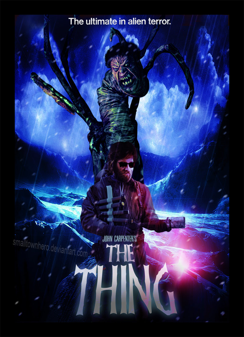 The Thing poster by smalltownhero on DeviantArt