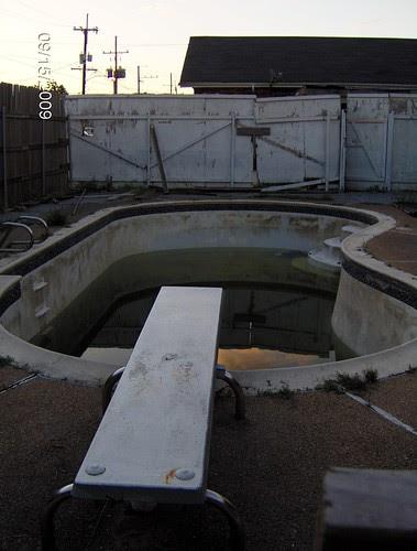 Pool @ Fig & Dante... filling up again
