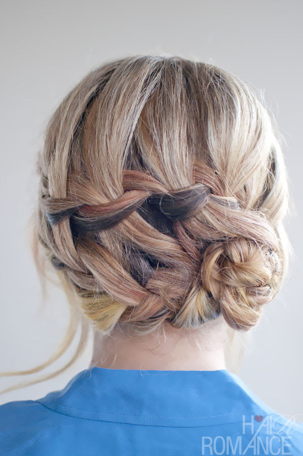 Braided  Hairstyle  Inspirations The Double Waterfall Braid