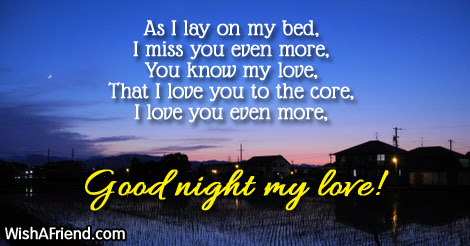 Good Night Messages For Girlfriend