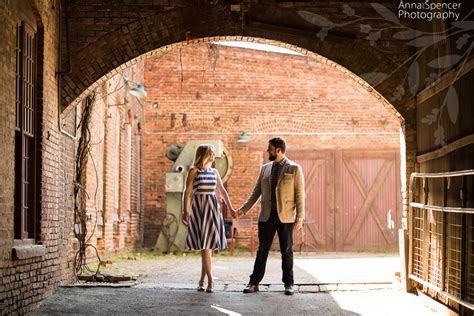 Katie & Colin?s Engagement   The Goat Farm   Atlanta