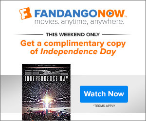 FandangoNOW - This Weekend Only! Complimentary Copy of Independence Day ID4