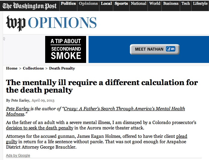 Mental Illness: Death Penalty Mentally Ill