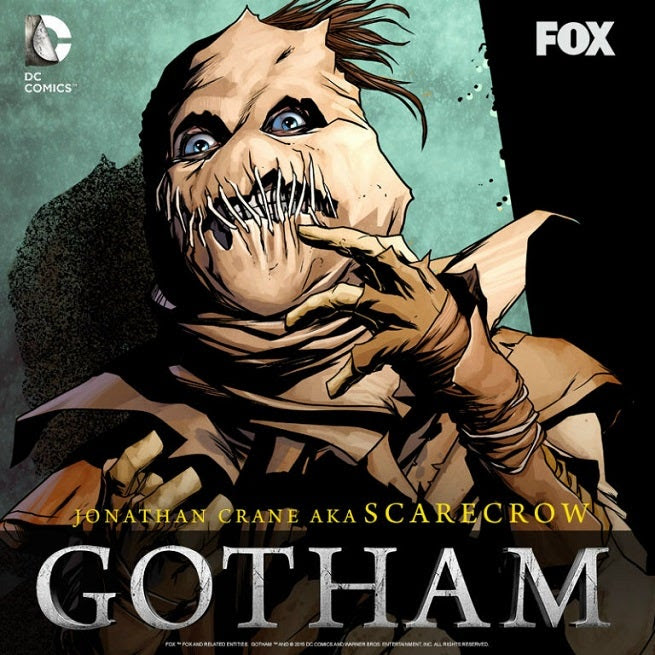 "Gotham: Easter Eggs and DC Comics References In ""The Scarecrow"""