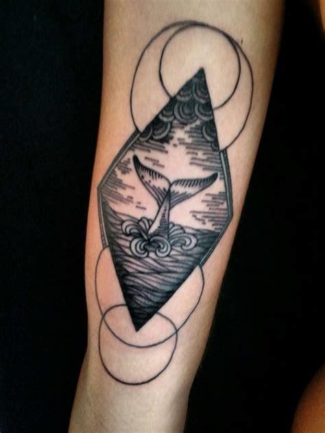 geometric tattoo sea tattoo whale tattoo tattoos shark
