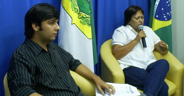 Odon Junior e Fatima Bezerra