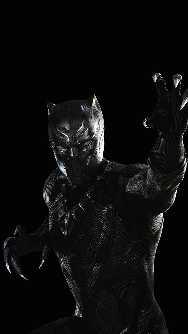 Unduh 520+ Wallpaper Black Panther Hd Iphone HD Terbaik