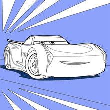 Dibujos Para Colorear Cars 3 Jackson Storm Es Hellokids Com