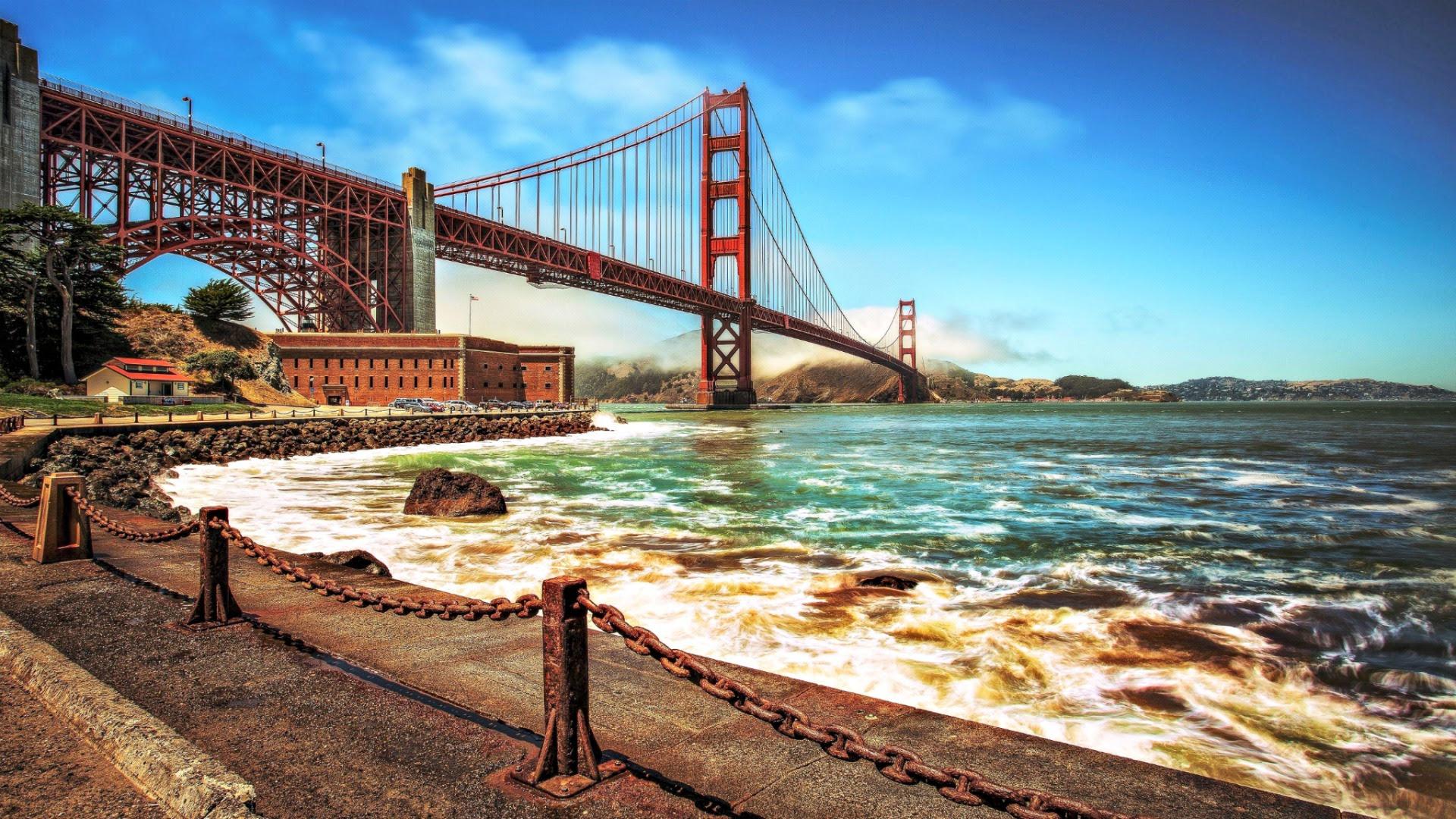 Golden Gate Bridge Iphone X Wallpaper