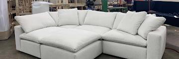 Restoration Hardware Cloud Sofa Replica