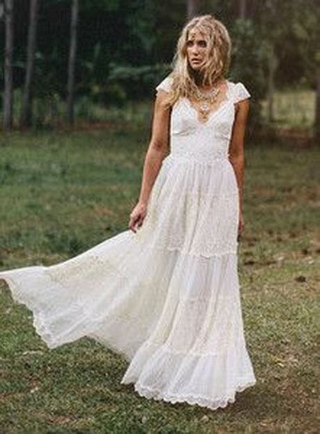 hippy wedding dresses
