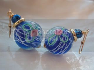 Encased class earrings