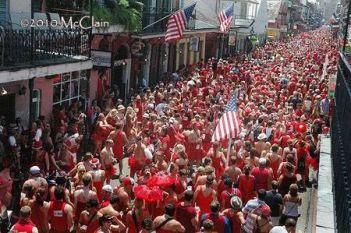 Red dress run new orleans 2019