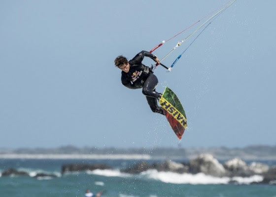 Jesse Richman conquered the Red Bull King of the Air 2013
