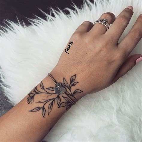 meaningful tattoos girls hand simple tattoo