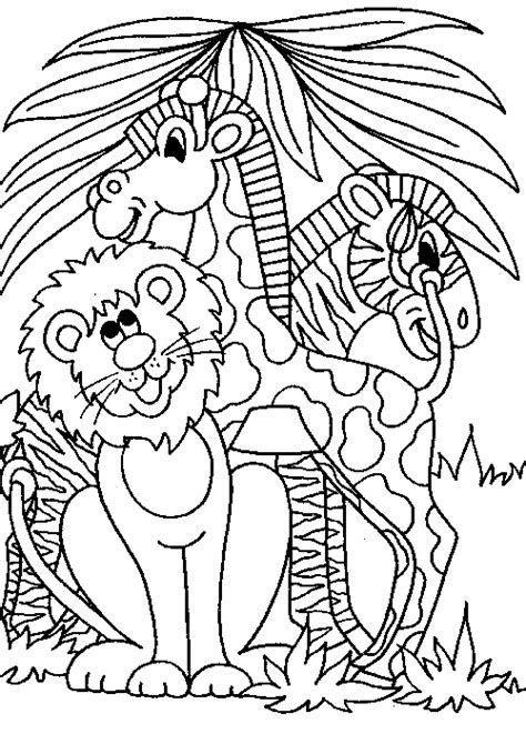 safari coloring pages bestofcoloringcom