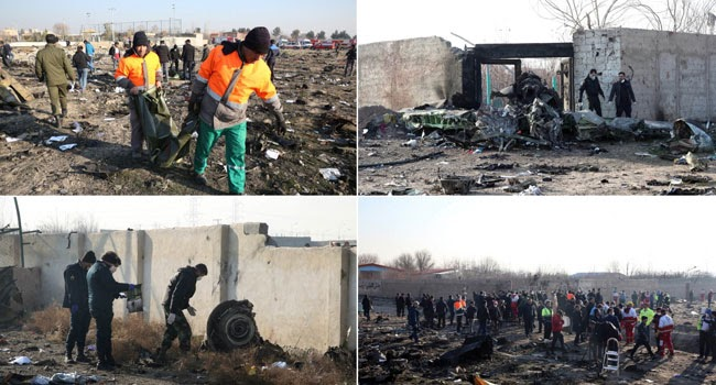 176 Killed As Ukrainian Jet Crash In Iran