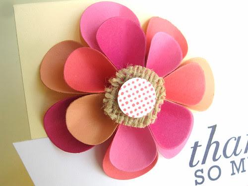 Dimensional Paper Flower Petals