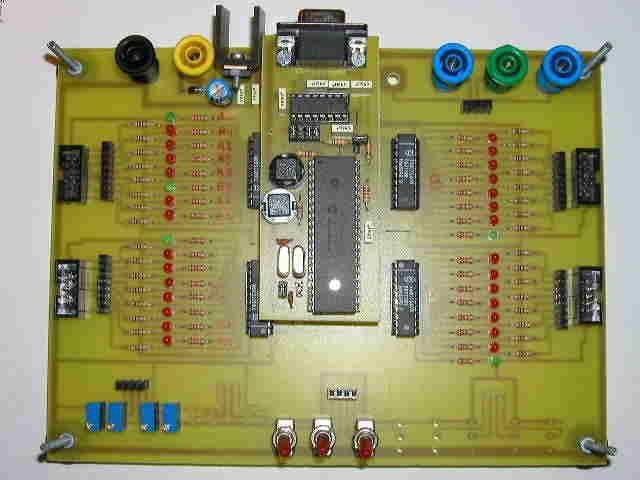 phát triển PIC16F877-thử nghiệm thẻ biên giới