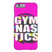 Artistic Gymnastics Paint Pink Barely There iPhone 6 Case