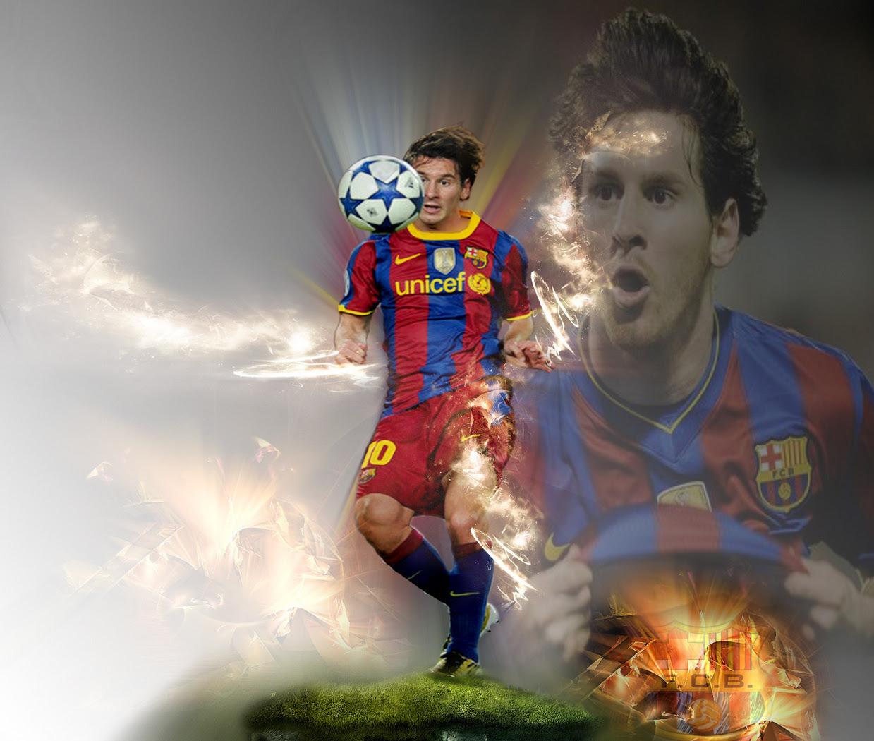 Lionel Messi FC Barcelona Wallpaper - Lionel Andres Messi ...