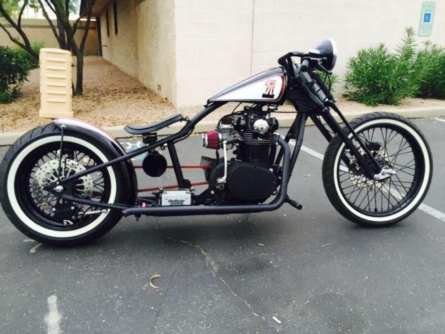 Complete Custom Bobber Motorcycle, Yamaha XS650 Engine 1 ...