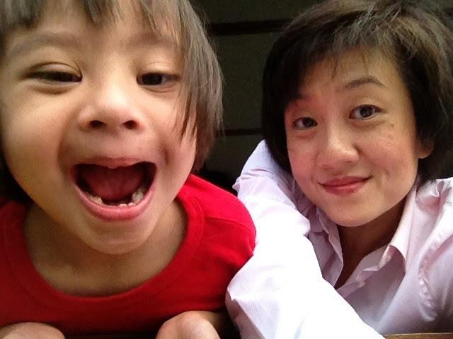 With Nadine