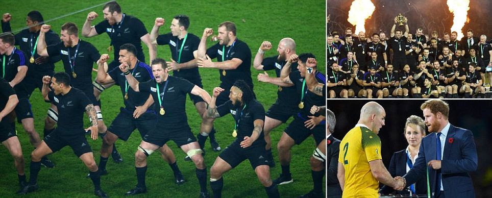 New Zealand win Rugby World Cup 2015