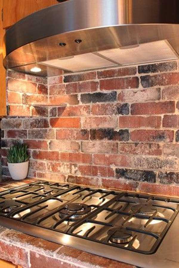 24 Low-Cost DIY Kitchen Backsplash Ideas and Tutorials ...