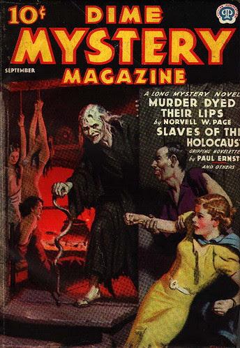 Dime Mystery Magazine Sep 1937