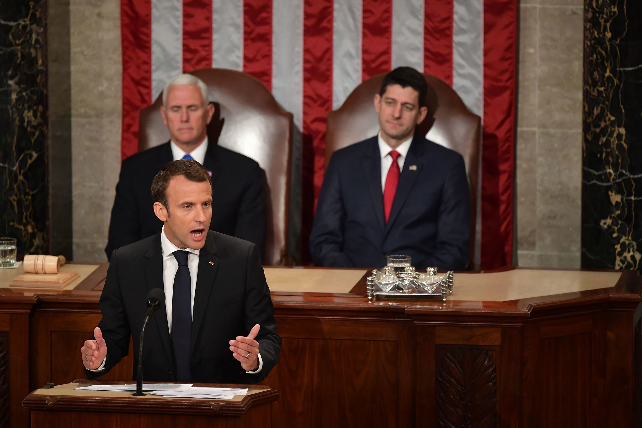 Image result for macron congress