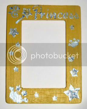 Princess Frame Yellow & Blue