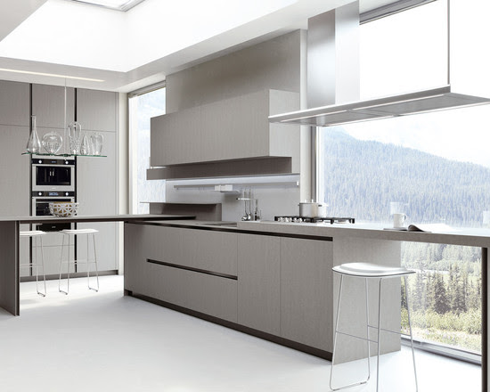 Kitchen: Intriguing Idea Applied In Italian Kitchen Cabinets ...